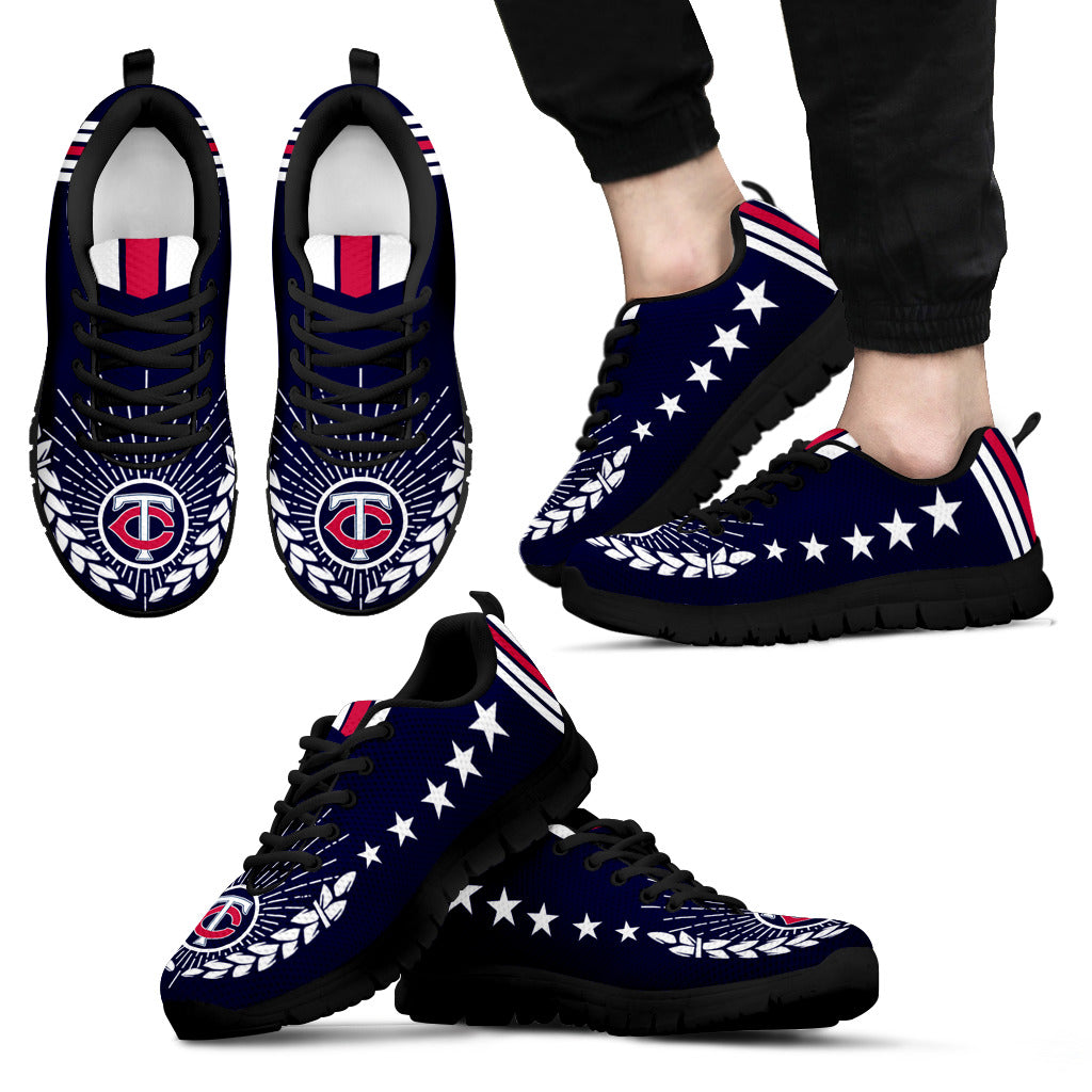 Line Of Stars Victory Minnesota Twins Sneakers