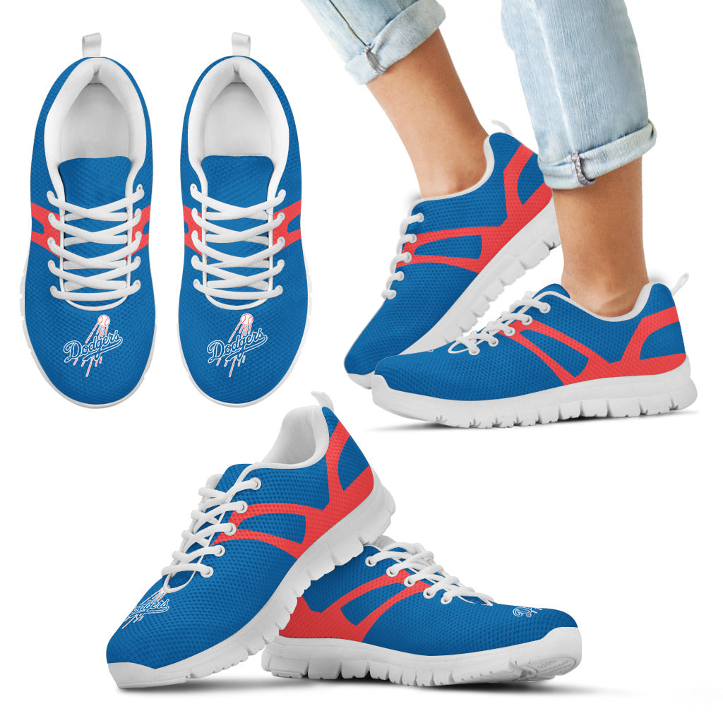 Line Amazing Bottom Los Angeles Dodgers Sneakers