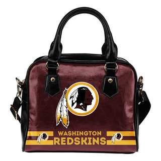 Washington Redskins For Life Shoulder Handbags