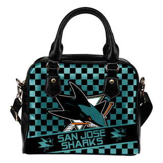 Different Fabulous Banner San Jose Sharks Shoulder Handbags