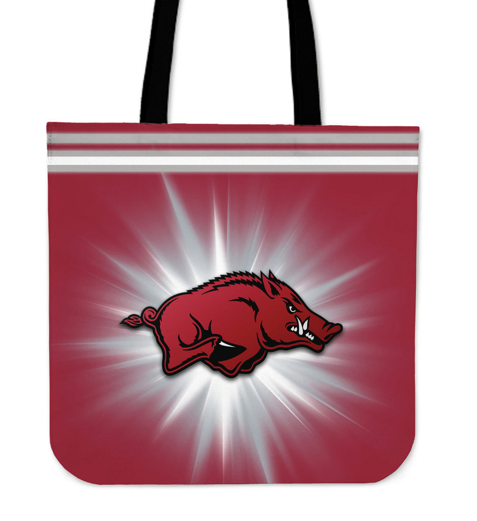 Arkansas Razorbacks Flashlight Tote Bags - Best Funny Store