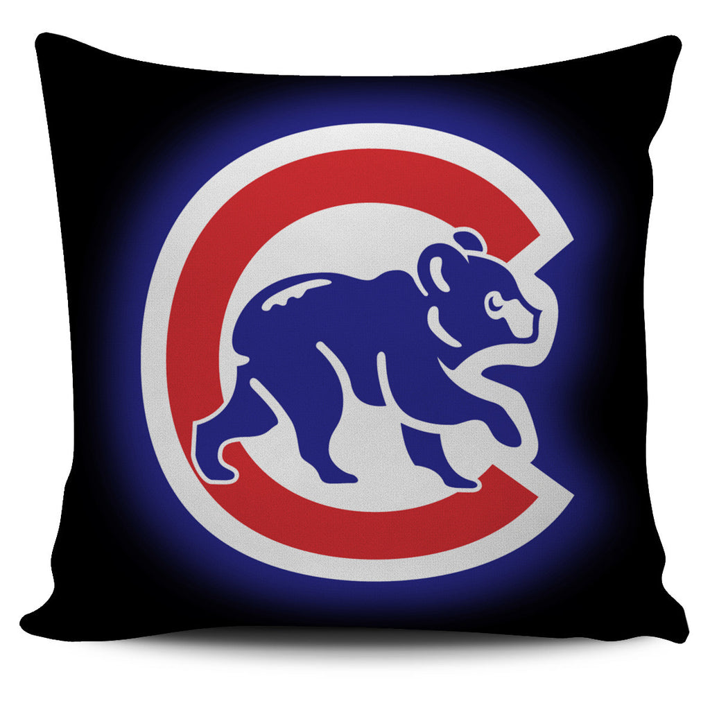 Chicago Cubs MBL Neon Pillow Cases Covers