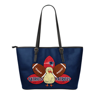 Thanksgiving New England Patriots Leather Bags - Best Funny Store