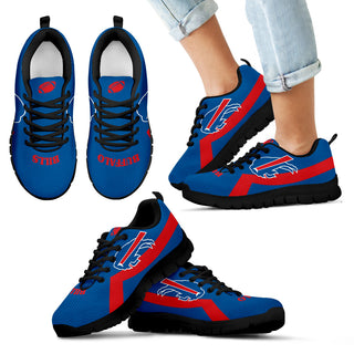 Buffalo Bills Line Logo Sneakers