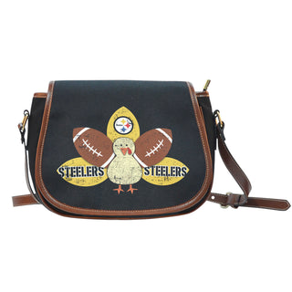 Thanksgiving Pittsburgh Steelers Saddle Bags - Best Funny Store