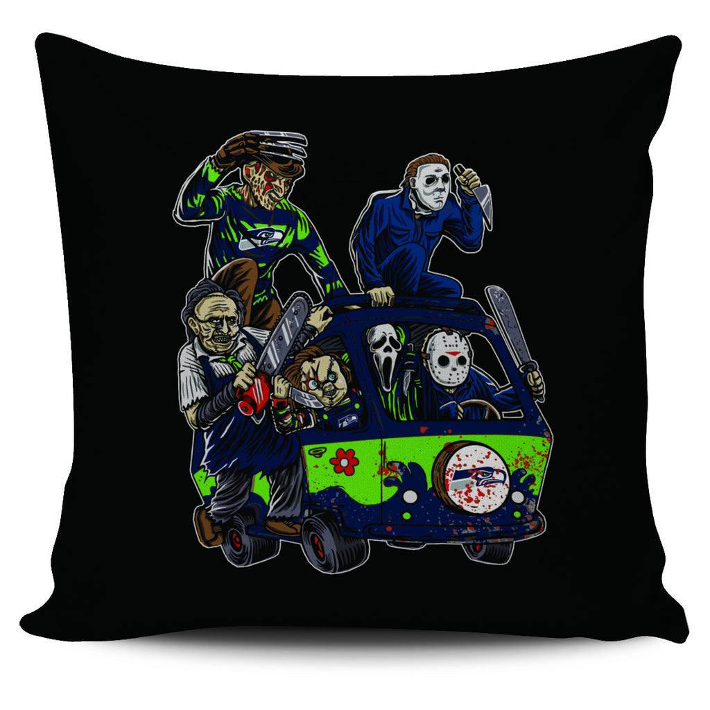 The Massacre Machine Seattle Seahawks Pillow Covers - Best Funny Store