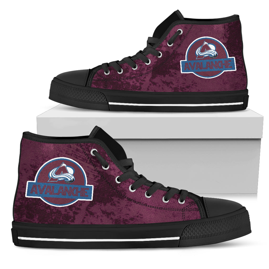 Jurassic Park Colorado Avalanche High Top Shoes