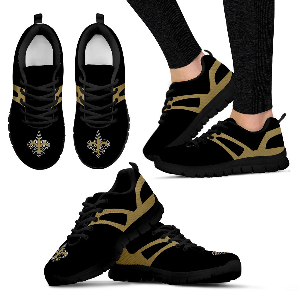 Line Amazing Bottom New Orleans Saints Sneakers