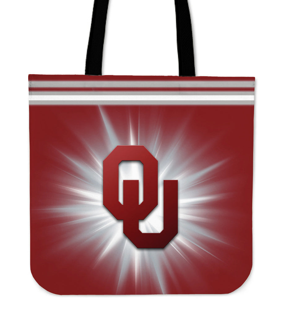 Oklahoma Sooners Flashlight Tote Bags - Best Funny Store
