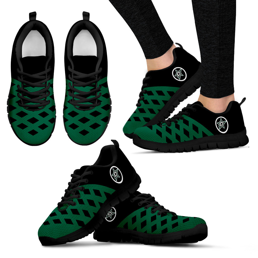 Two Colours Cross Line Dallas Stars Sneakers