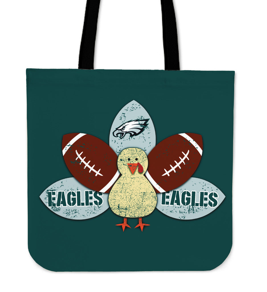 Thanksgiving Philadelphia Eagles Tote Bags - Best Funny Store