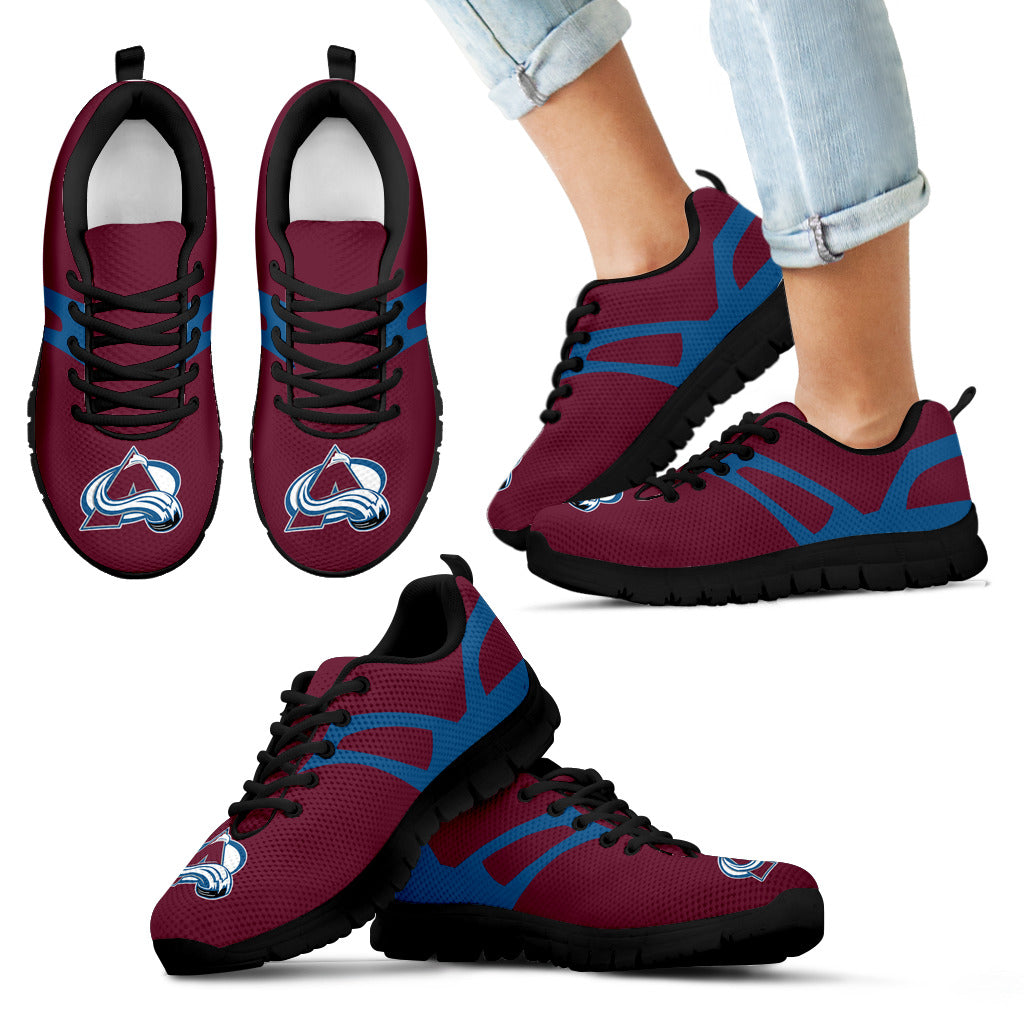 Line Amazing Bottom Colorado Avalanche Sneakers