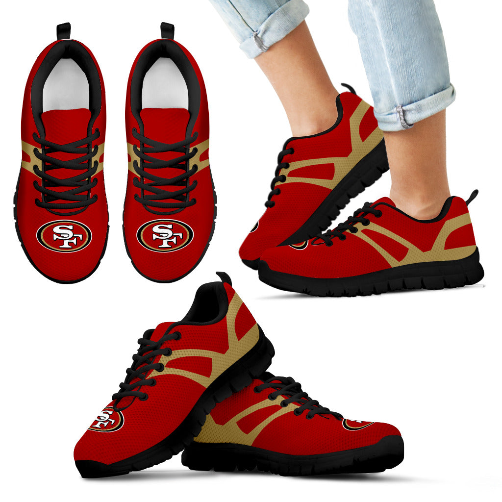 Line Amazing Bottom San Francisco 49ers Sneakers