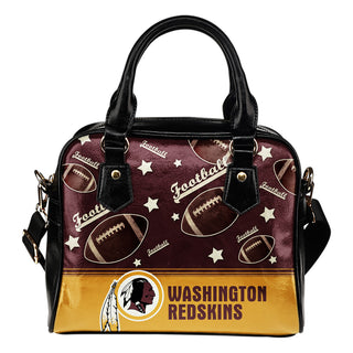 Personalized American Football Awesome Washington Redskins Shoulder Handbag