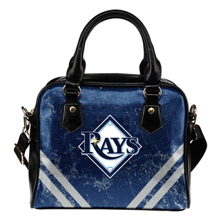 Couple Curves Light Good Logo Tampa Bay Rays Shoulder Handbags