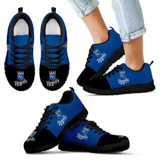 Two Colors Aparted Kansas City Royals Sneakers