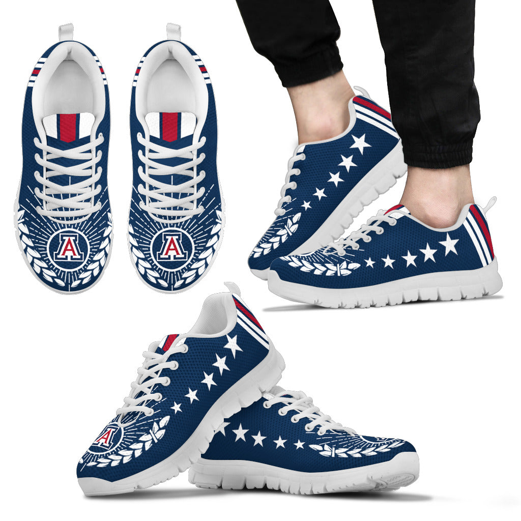 Line Of Stars Victory Arizona Wildcats Sneakers