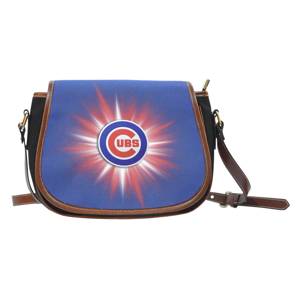 Chicago Cubs Flashlight Saddle Bags - Best Funny Store