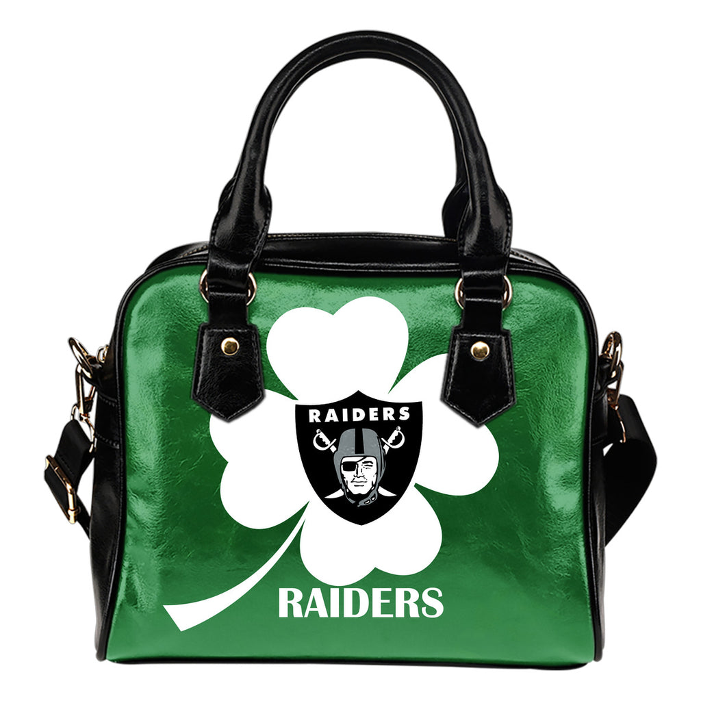 Oakland Raiders Blowing Amazing Stuff Shoulder Handbags
