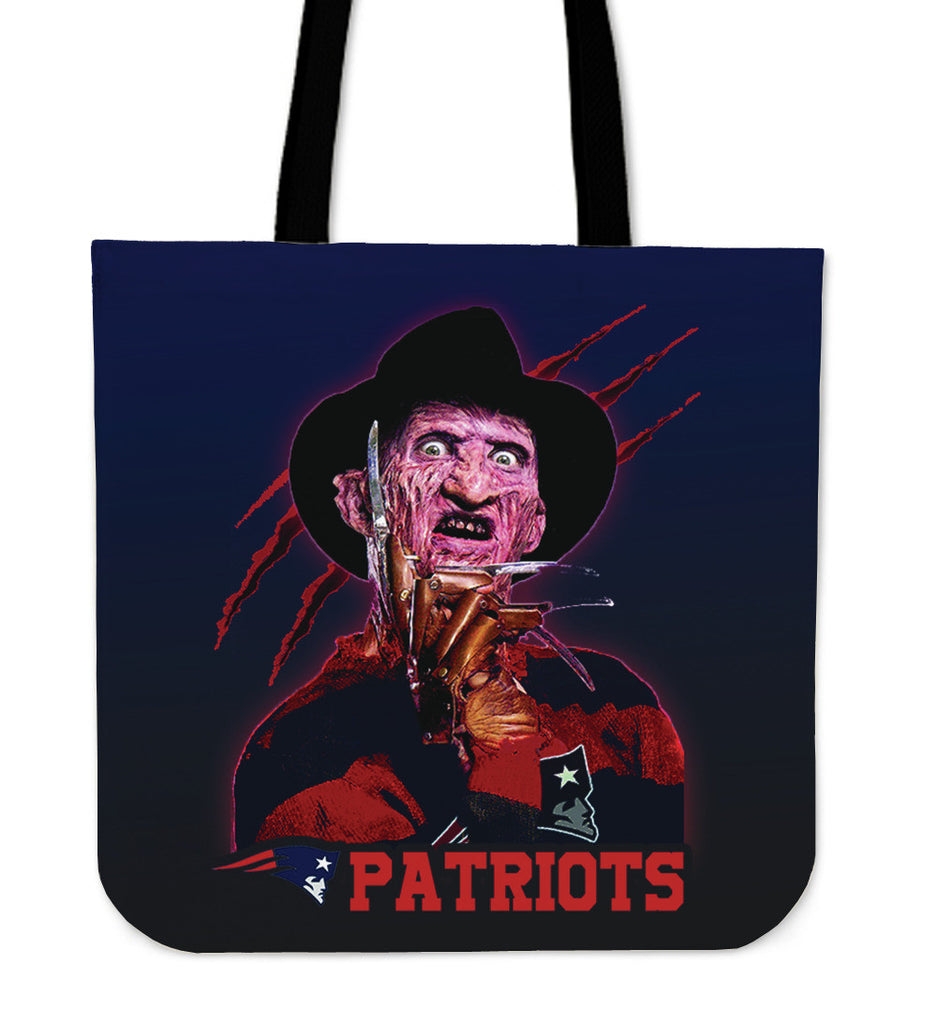 New England Patriots Freddy Tote Bag - Best Funny Store