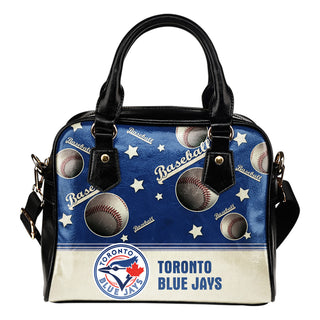 Personalized American Baseball Awesome Toronto Blue Jays Shoulder Handbag