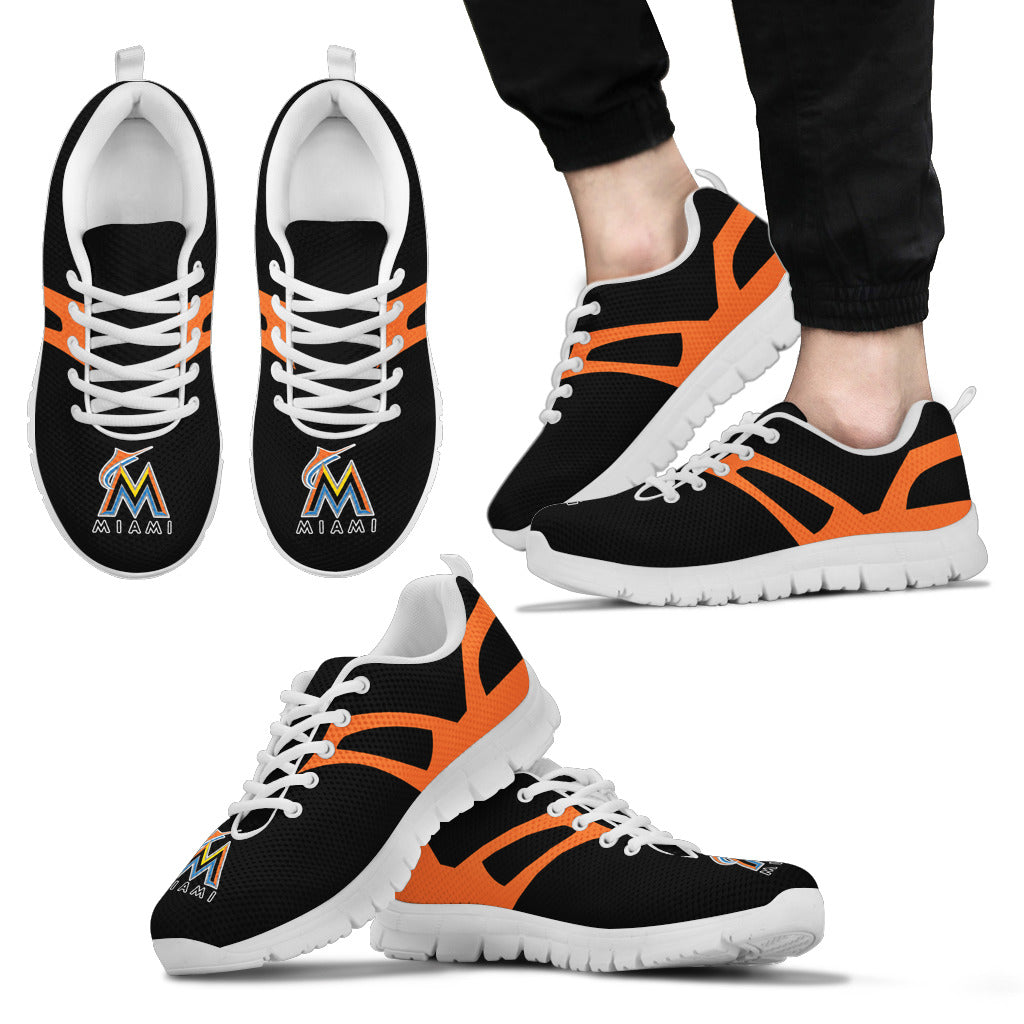 Line Amazing Bottom Miami Marlins Sneakers