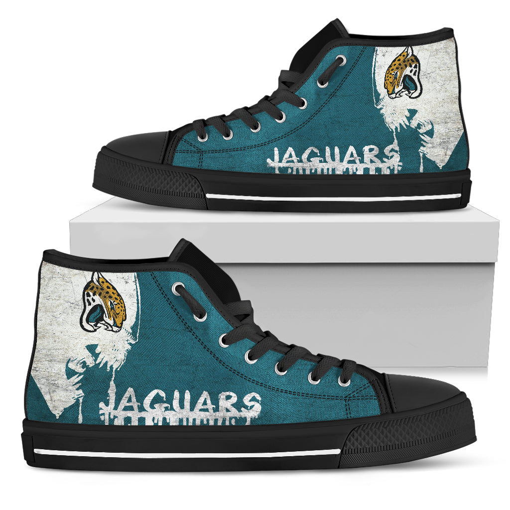 Alien Movie Jacksonville Jaguars High Top Shoes