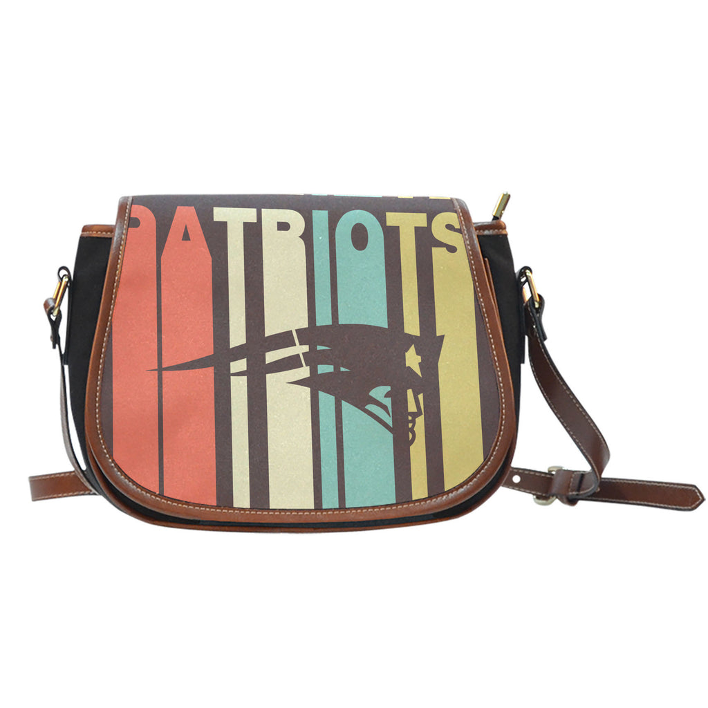 Vintage Style New England Patriots Saddle Bags - Best Funny Store