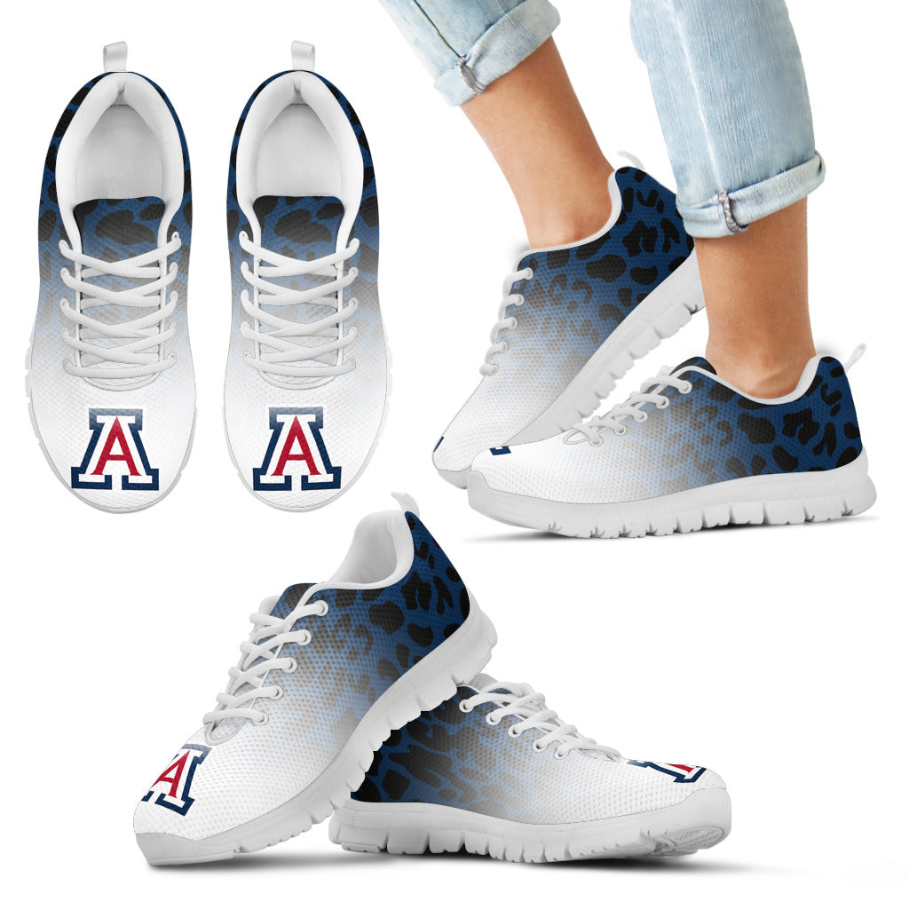 Leopard Pattern Awesome Arizona Wildcats Sneakers