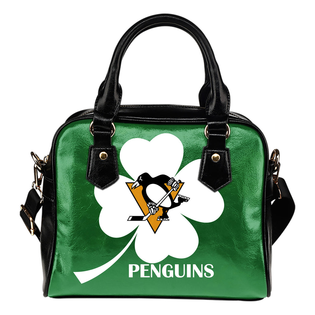 Pittsburgh Penguins Blowing Amazing Stuff Shoulder Handbags
