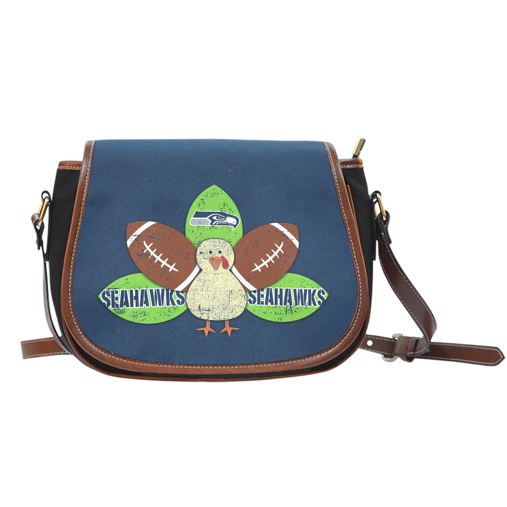 Thanksgiving Seattle Seahawks Saddle Bags - Best Funny Store
