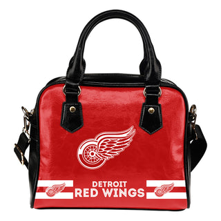 Detroit Red Wings For Life Shoulder Handbags