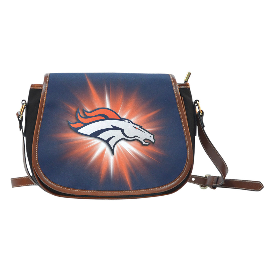 Denver Broncos Flashlight Saddle Bags - Best Funny Store