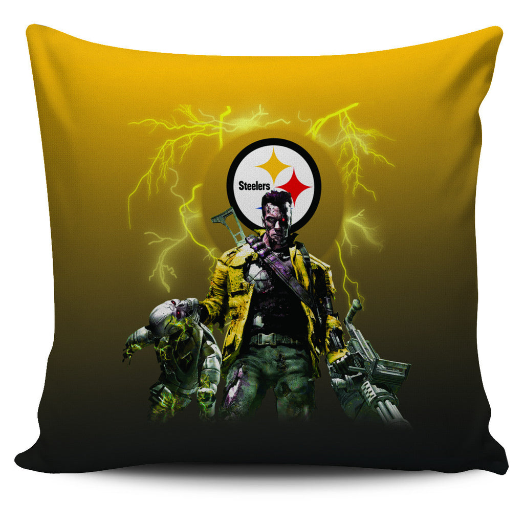 Guns Pittsburgh Steelers Pillow Covers - Best Funny Store
