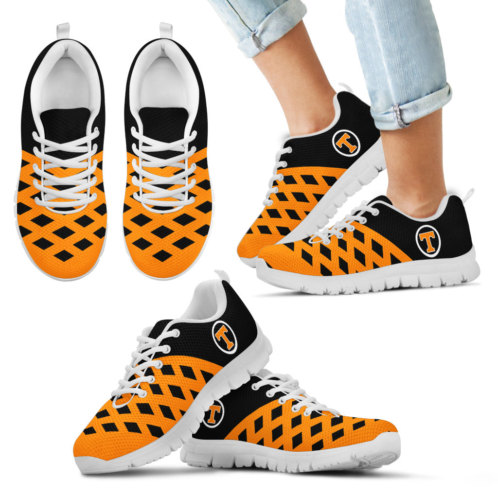 Two Colours Cross Line Tennessee Volunteers Sneakers