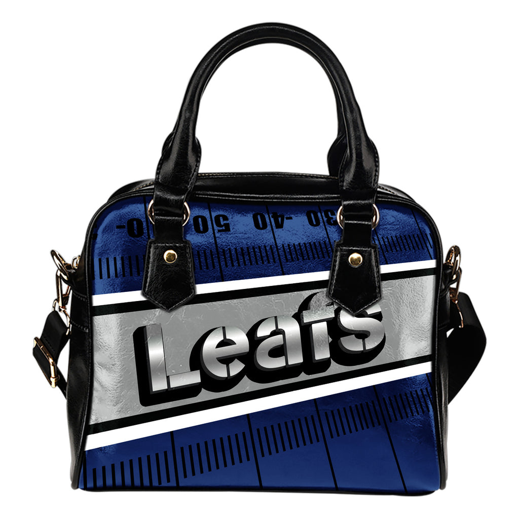 Toronto Maple Leafs Silver Name Colorful Shoulder Handbags