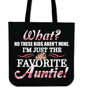 These Kids Aren't Mine Aunt Tote Bags