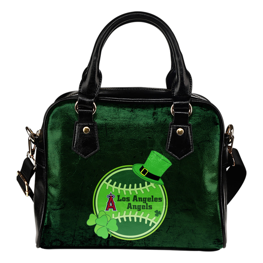 Signal Patrick's Day Pleasant Los Angeles Angels Shoulder Handbags