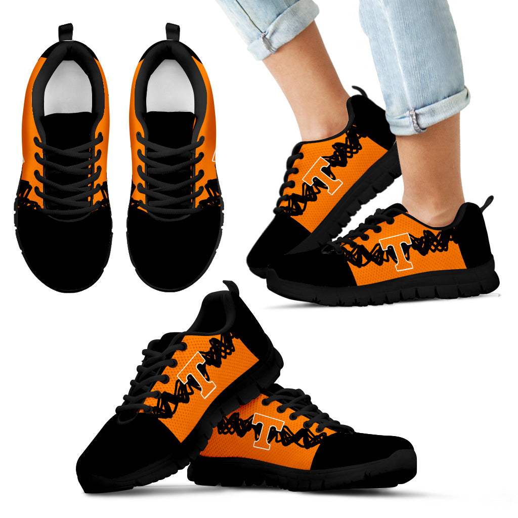 Doodle Line Amazing Tennessee Volunteers Sneakers