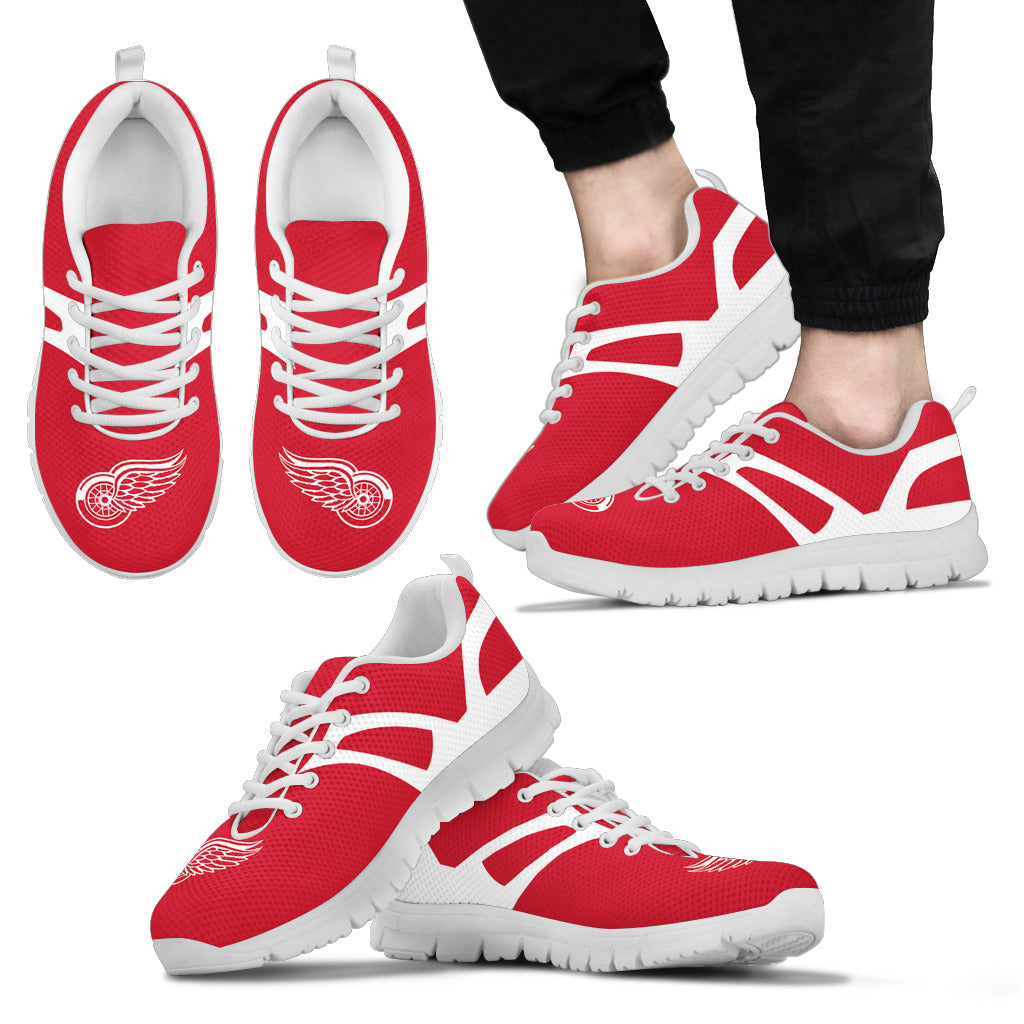 Line Amazing Bottom Detroit Red Wings Sneakers
