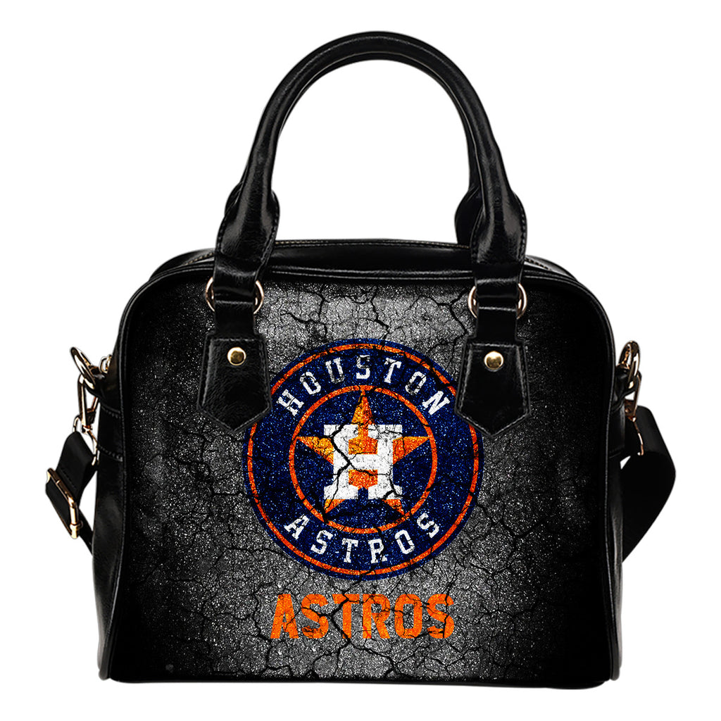 Wall Break Houston Astros Shoulder Handbags Women Purse