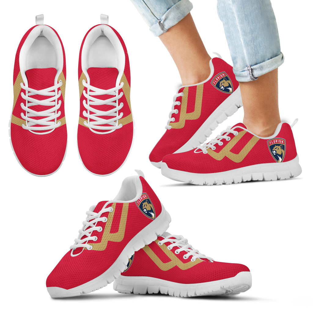 Line Bottom Straight Florida Panthers Sneakers