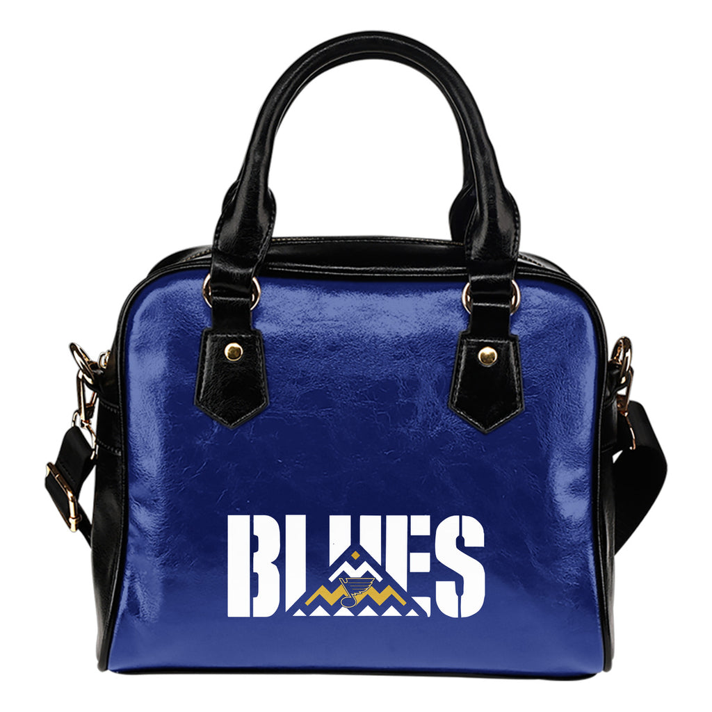 St. Louis Blues Mass Triangle Shoulder Handbags