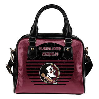 Back Fashion Round Charming Florida State Seminoles Shoulder Handbags
