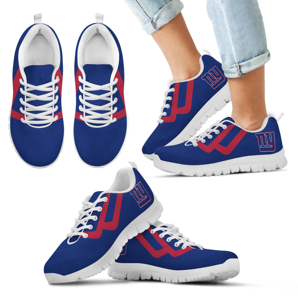 Line Bottom Straight New York Giants Sneakers