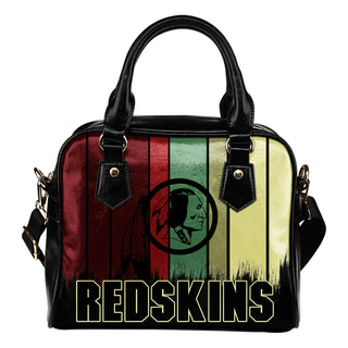 Vintage Silhouette Washington Redskins Purse Shoulder Handbag