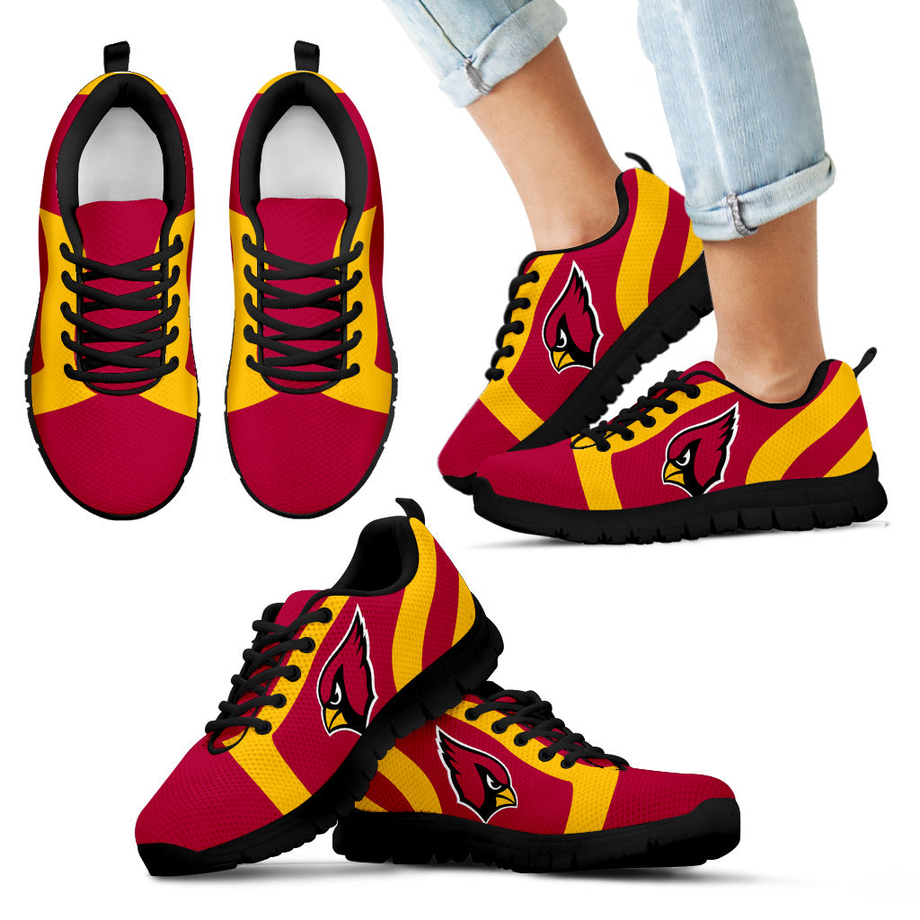 new concept 8227d 6a35d Line Inclined Classy Arizona Cardinals Sneakers