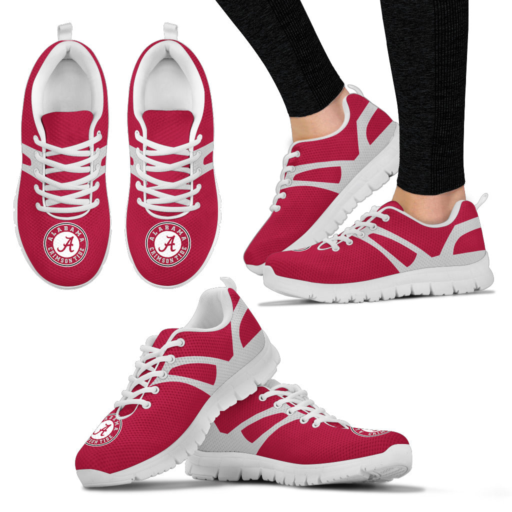 Line Amazing Bottom Alabama Crimson Tide Sneakers