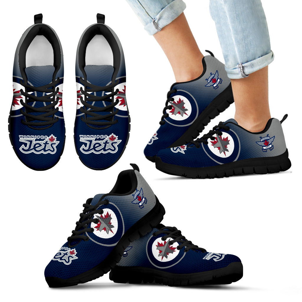 huge discount eb125 8aa3e Special Unofficial Winnipeg Jets Sneakers