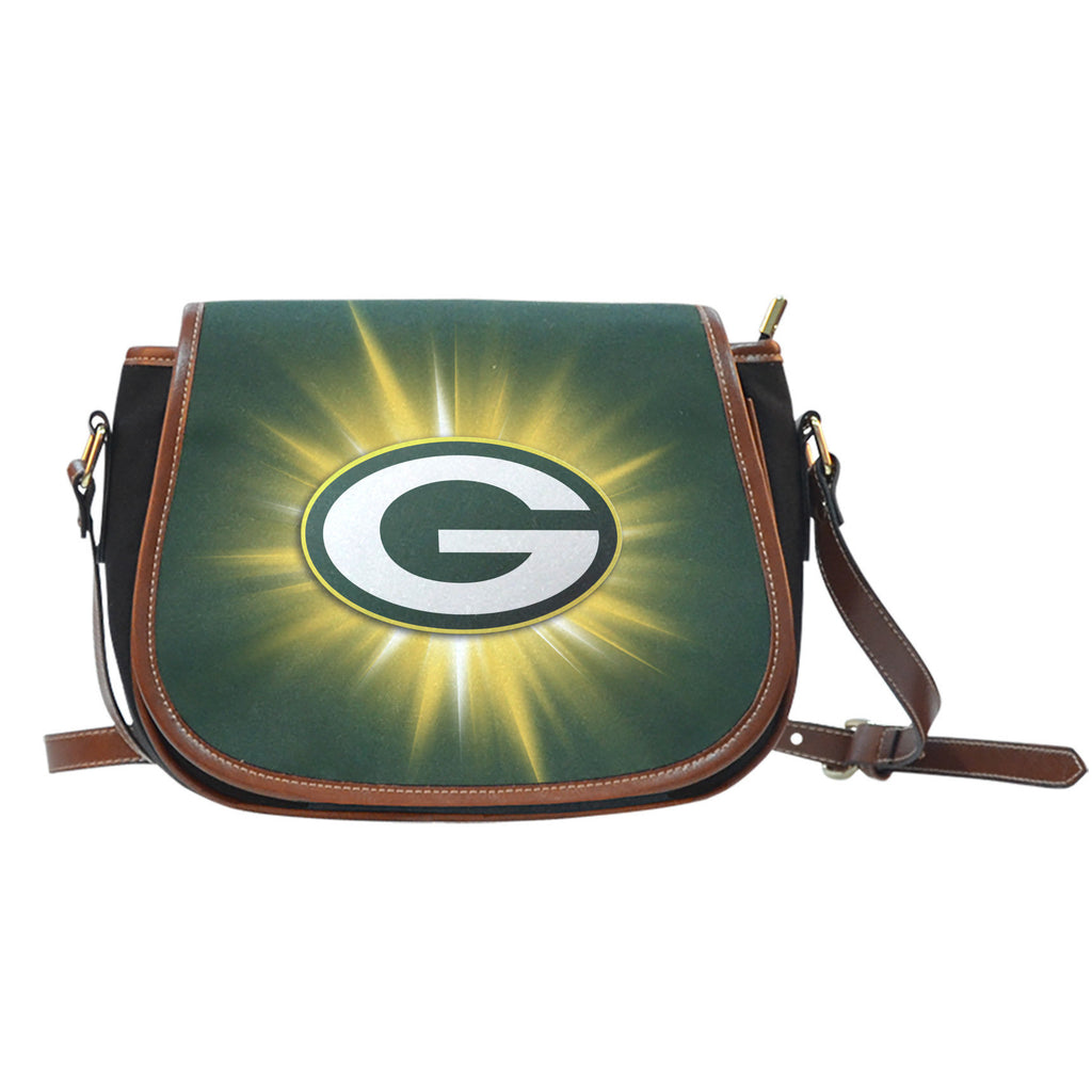 Green Bay Packers Flashlight Saddle Bags - Best Funny Store